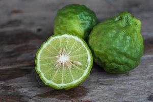 Bergamotte Früchte foto