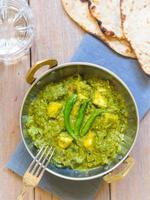 Palak Paneer (indische Küche) foto