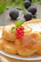 süße Pfannkuchen foto