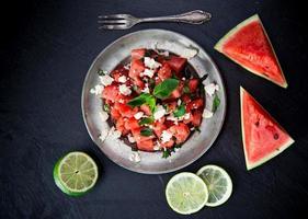Süßwassermelonensaft, gesundes Getränk.