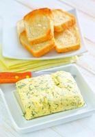 Butter mit Knoblauch foto