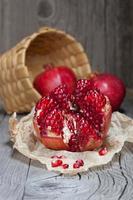saftige Granatäpfel