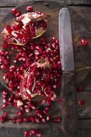 Granatapfelsamen foto
