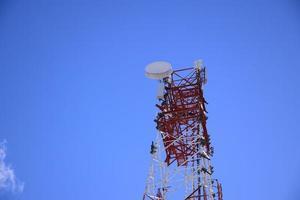 Telekommunikationsturm foto