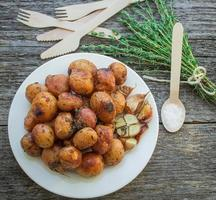 kleine Ofenkartoffel foto