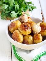 geröstete junge Kartoffeln foto