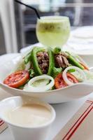 Salat Thunfisch für die Ernährung