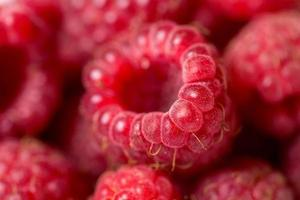 Himbeerfrucht Hintergrund foto
