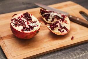 Granatapfelfrüchte foto