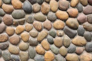 Felsen an der Wand, Hintergrundtexturen foto