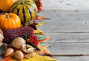 Herbstkomposition foto
