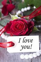 Tag mit Ich liebe dich