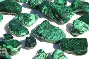 Malachit-Mineralproben foto