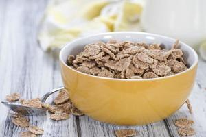 Vollkorn-Cornflakes foto