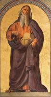 Wien - Fresko Noahs in der Altlerchenfelder Kirche foto