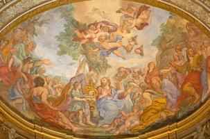 Rom - Wunder der Multiplikation Fresko foto