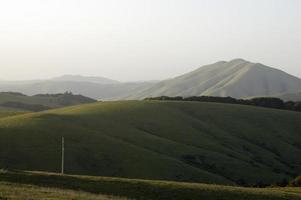 Punkt Reyes schwarzer Berg vom Bololinas Grat foto
