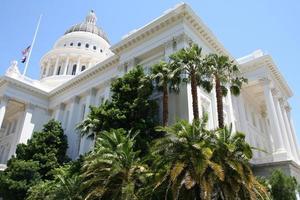 Hauptstadt des Bundesstaates Kalifornien foto
