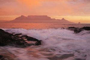 Tafelberg und Kapstadt foto