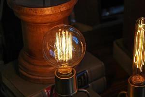 Glühbirne aus einem Antiquitätengeschäft in Atlanta, GA foto