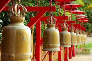 Glocken in Thailand foto