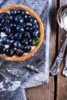 Blaubeertorte mit Lavendel