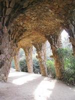 Tunnel, Parc Güell foto