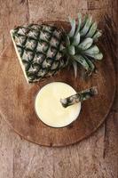 Ananas-Smoothie foto