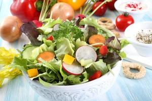 Gemüsesalat foto