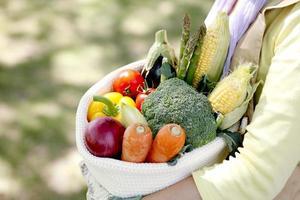 Es hat ein Gemüse foto
