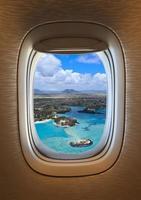 Flug ins Paradies foto