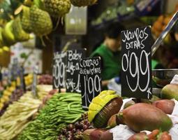 frische Lebensmittel Serie foto