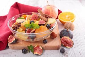 Fruchtsalat foto
