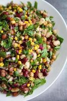gemischter Bohnensalat foto