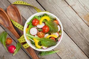 frischer gesunder Salat foto
