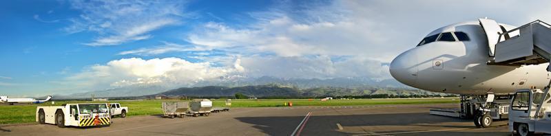 Flughafen von Almaty