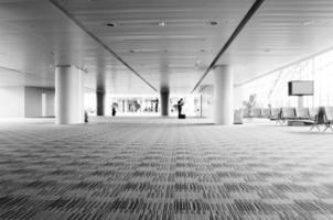 Innenraum des Flughafens foto