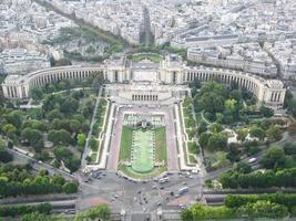 Landschaft von Paris foto