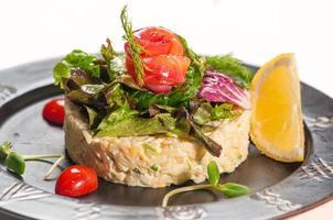 Gerichte der internationalen und orientalischen Küche foto