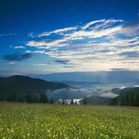 Berg Sonnenaufgang foto