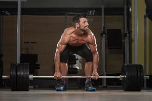 Kreuzheben Training für den Rücken