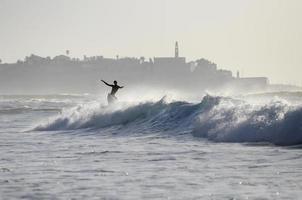 Wassersurfer foto