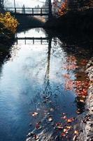 Herbst in Berglandschaft foto