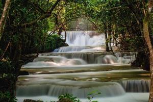 fallendes Wasser foto