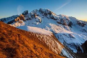 wunderbare Winterlandschaft foto