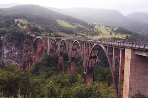 montenegro budva kotor landschaft foto
