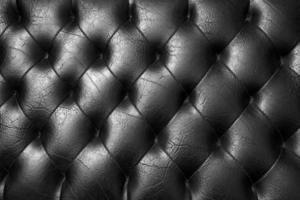 schwarze Polsterung. foto