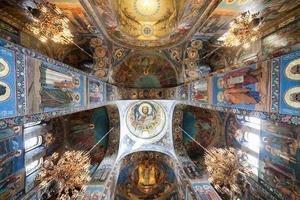 Fresko unter der Kuppel