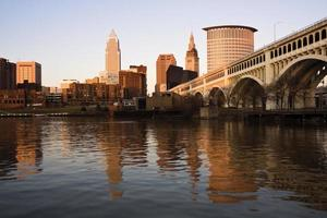 Innenstadt von Cleveland foto