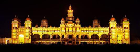 Mysore Palast foto